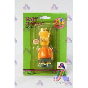 BART SIMPSON KEY RING