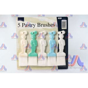 5 PASTRY BRUSHES