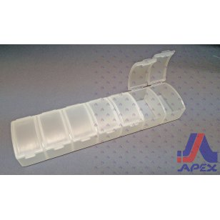 7 Compartment Pill Box (Clear)