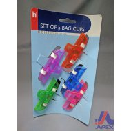 Bag Clips (Set Of 5)