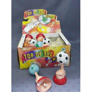 WIND UP TOP OF THE WORLD SPINNER