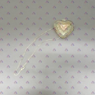 HEART NECKLACE W/ PERFUME