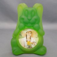 Frosted Animal Photo Frame Rabbit