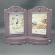 PHOTO FRAME W/ CLOCK
