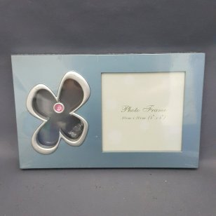 FLOWER PHOTO FRAME (BE, GN, PU, BR)