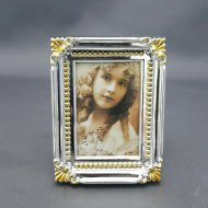 Gold & Silver Photo Frame Mini 3Pcs/Card