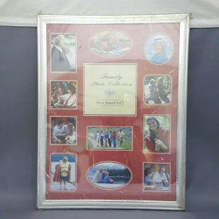 FAMILY PHOTO COLLECTION SILVER 16 X 12