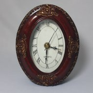 Antique Style Clock Oval 3R