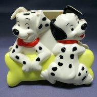 MAGNETIC MEMO HOLDER DALMATIAN