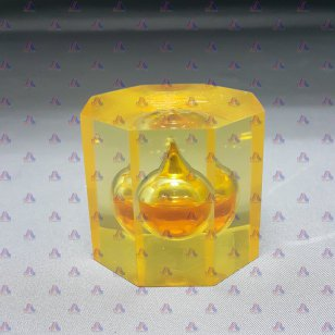 OCTAGON OIL PAPERWEIGHT