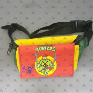 NINJA TURTLE WAIST BAG (2 COMPARTMENT)