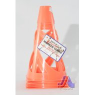 Flexible Marker Traffic Cones (Pack Of 4)