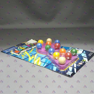 MAGNETIC MARBLE PUZZLE (2 PCS/CARD)