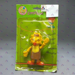 BART SIMPSON BABY SISTER FLEXIBLE DOLL