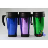 Travel Mug (Blue, Green)