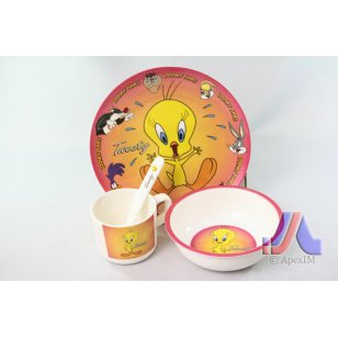CHILDREN DINNER SET CHICK