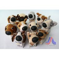 THE DOG PLUSH TOY (12 DESIGNS)